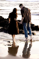 engagement photography, morro bay, romantic